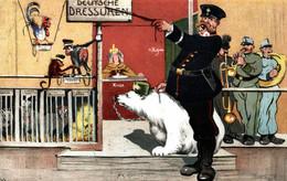 CPA - WW1 WWI Propaganda Propagande - ERLER - Orso, Ours - Umoristica Satirica, Humour Satirique - VG - PV397 - Oorlog 1914-18