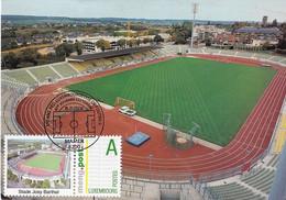 LUXEMBOURG , LUXEMBOURG STADE JOSY BARTHEL STADIUM ESTADIO STADION STADIO - Fussball