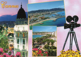 CPM - F - ALPES MARITIMES - CANNES - MULTIVUES - CAMERA - Cannes