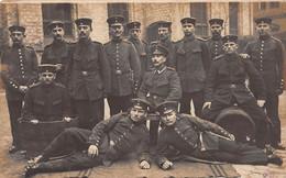 Carte Postale Photo Militaire Allemand HALLE-Deutschland-Saale-Allemagne-.Soldaten-Brief-Stempel-Krieg-Guerre 14/18 - Halle (Saale)
