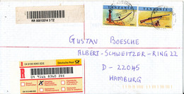 Tanzania Registered Air Mail Cover Sent To Germany 28-3-2000 - Tanzania (1964-...)