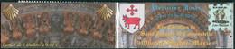 RANCE - CARNET PRIVÉ 5 TP MARIANNE JEUNESSE 0,01 (DATÉ) - P.J. T.P. Chemins De Saint-Jacques à Oloron 24/25-04-2015 - Christendom