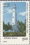 Phare Lighthouse Vuurtoren Leuchttürme Faro Fari INDE 1985 NEUF** MNH - Lighthouses