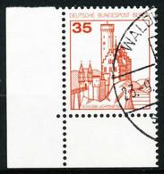 BERLIN DS BURGEN U. SCHLÖSSER Nr 673 Gestempelt ECKE-ULI X622BFE - Used Stamps