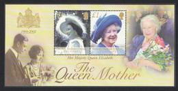 BIOT Queen Mother Commemoration MS 2002 MNH SG#MS269 - Territoire Britannique De L'Océan Indien