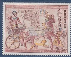 Oeuvres D'Art: Ramsés (fresque D'Abu-Simbel) N°1899 Neuf - Unused Stamps
