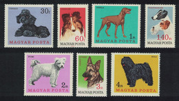 Hungary Dogs 7v 1967 MNH SG#2289-2295 MI#2337A-2343A CV£8.95 - Ongebruikt