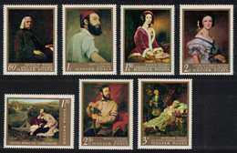 Hungary Paintings In National Gallery Budapest 2nd Series 7v 1967 MNH SG#2282-2288 CV£11.05 - Ongebruikt