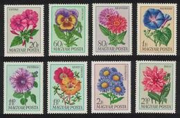 Hungary Garden Flowers 8v 1968 MNH SG#2397-2404 CV£11.95 - Ongebruikt