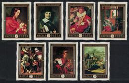 Hungary Dutch Paintings In Hungarian Museums 7v 1969 MNH SG#2495-2501 CV£9.85 - Ongebruikt