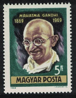 Hungary Birth Centenary Of Mahatma Gandhi 1969 MNH SG#2484 - Ongebruikt
