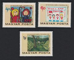 Hungary Children's Stamp Designs 3v 1968 MNH SG#2405-2407 - Ongebruikt