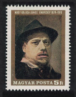 Hungary 50th Death Anniversary Of Janos Nagy Painter 1969 MNH SG#2486 - Ongebruikt