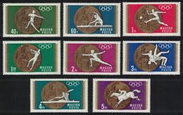 Hungary Football Canoe Wrestling Olympic Gold Medal Winners 8v 1969 MNH SG#2422-2429 CV£7.- - Ongebruikt