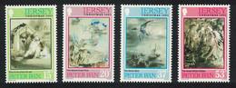 Jersey Birds Christmas 4v 1991 MNH SG#564-567 - Jersey