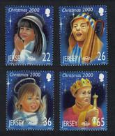 Jersey Christmas Children's Nativity Play 4v 2000 MNH SG#968-971 - Jersey