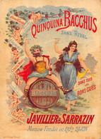 Dijon Chromo Quinquina Bacchus Imp Courbe Rouzet Dole Concours Boules Pétanque Sermérieu - Dijon