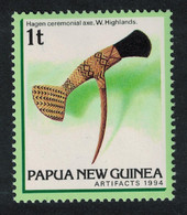 Papua NG Hagen Ceremonial Axe Western Highlands 1994 MNH SG#710 SC#825-840 - Papua New Guinea