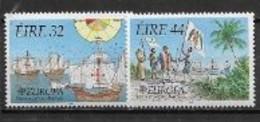 Irlande 1992 N° 596/597 Neuf Europa Découverte De L'Amérique - 1992