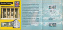 "Bund: Minister Card - Ministerkarte Mi-Nr. 2213 ESST Erfurt: "" Landtag Thüringen "" !  X - Storia Postale"