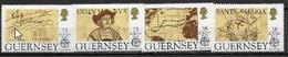 Guernesey 1992 N° 500/503 Neuf Europa Découverte De L'Amérique - 1992