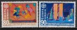 Liechtenstein 1992 N° 974/975 Neufs Europa Découverte De L'Amérique - 1992