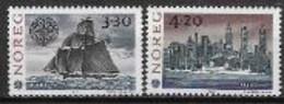 Norvège 1992 N° 1053/1054 Neufs Europa Découverte De L'Amérique - 1992