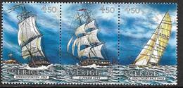 Suède 1992 N° 1691/1693 Neufs Europa Découverte De L'Amérique - 1992