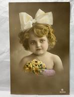 Girl, Unused, Children Portraits Postcard - Portraits