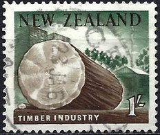 New-Zealand 1960 - Mi 402 - YT 392 ( Timber Industry ) - Used Stamps