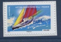 N° 894A Voilier Adhésif 2013, Valeur Faciale Lettre Prioritaire 20g - Luchtpost