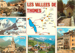 CPSM Les Vallées De Thônes-Multivues      L526 - Thônes