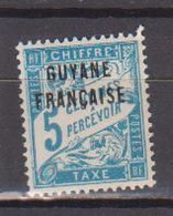 GUYANE       N°  YVERT   TAXE 1   NEUF SANS  CHARNIERES    ( NSCH  3/22 ) - Unused Stamps