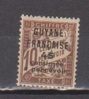 GUYANE       N°  YVERT   TAXE   7     NEUF SANS  CHARNIERES    ( NSCH  3/22 ) - Unused Stamps