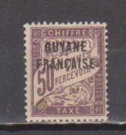 GUYANE       N°  YVERT   TAXE   8     NEUF SANS  CHARNIERES    ( NSCH  3/22 ) - Unused Stamps