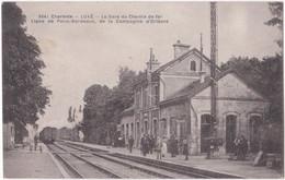 16. LUXE. La Gare Du Chemin De Fer. 3641 - Otros Municipios