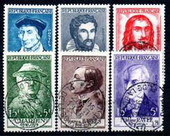 R1-16 France Oblitéré N° 1066 à 1071 à 10 % De La Côte  !!! - Used Stamps