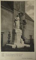 Kontich - Contich / De Bevolking Van Contich Uit Dankbaarheid Aan 't H. Hart (Standbeeld) 192? - Kontich