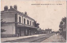 71. SAINT-LOUP-DE-LA-SALLE. La Gare - Altri Comuni