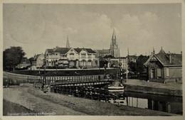 Franeker (Frl.) Oosterbrug En Molenpolle 1934 - Franeker
