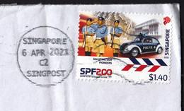 Singapore 2020 / 200th Anniversary Of The Singapore Police Force / Car VW Beetle - Polizia – Gendarmeria