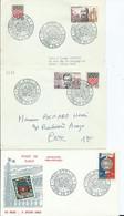FRANCE - CACHET ILLUSTRÉ GRAND FORMAT FOIRE DE PARIS - 1963 - Aushilfsstempel