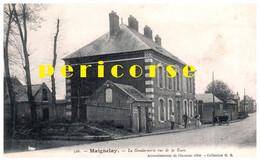 60  Maignelay  La Gendarmerie Rue De La Gare - Maignelay Montigny