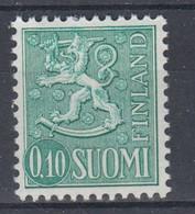 ++M1480. Finland 1963. Liontype. Michel 557yI. MNH(**). - Nuevos