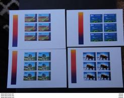 Kyrgyzstan 2012 PROOF  Imperforate Sheet Dinosaurs VF - Prehistorics