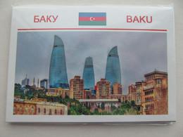 Set Of 15 Postcards Azerbaïjan Baku Modern PCs - Azerbaïjan
