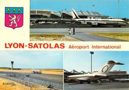 69 - Lyon - Satolas - Aéroport International - Multivues - Otros