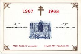35 1437 1442 CS FDC Carte Souvenir Belgique Solidarité Jeux Enfants Campagne Antituberculeux Brussel Bruxelles 9-12-1967 - Souvenir Cards