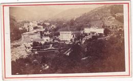 Photo Ancienne : C.D.V. : VALS Les BAINS - Ardèche : Le Village : Photo A. Ribeyre - Vals - Old (before 1900)