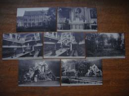 France - Nord (59) - Lot De 12 Cartes De TOURCOING ( Monastère Des Bénédictines - Eglise St Christophe ) - Tourcoing